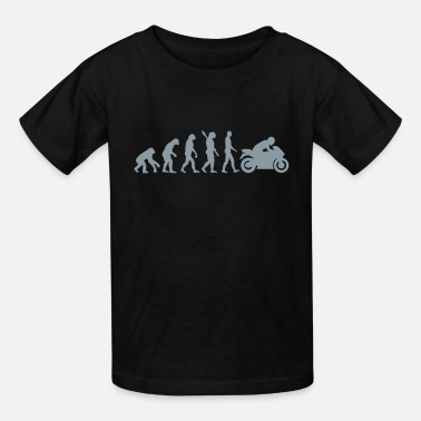 Evolution Motorcycle Motorcycle - Kids' T-Shirt