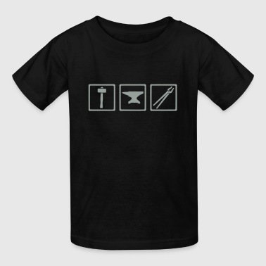 Blacksmith - Kids' T-Shirt