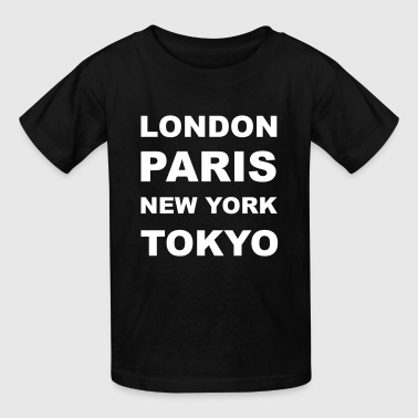 London, Paris, New York, Tokyo - Kids' T-Shirt