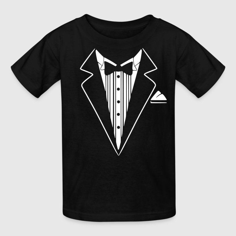 Tuxedo Jacket Costume  - Kids' T-Shirt