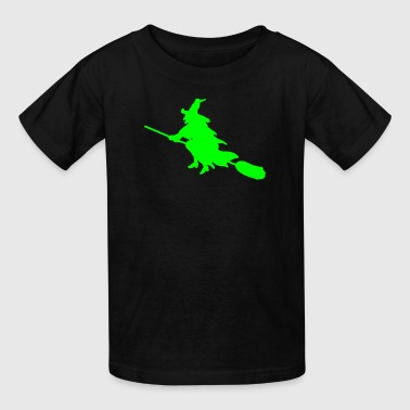 witch broom - Kids' T-Shirt