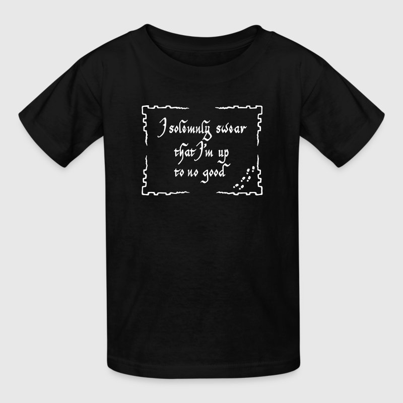 I solemnly swear that I m up to no good - Kids' T-Shirt