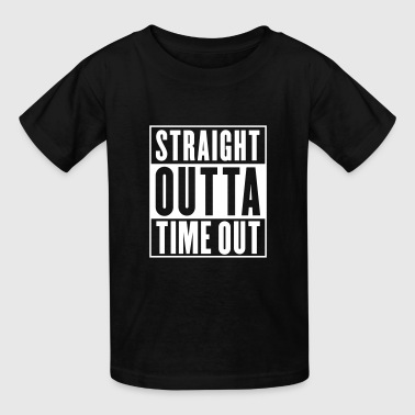 Straight Outta Time Out - Kids' T-Shirt