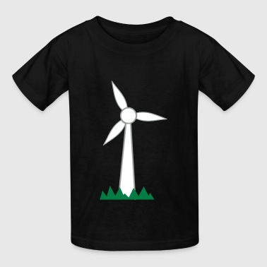 Wind Turbine - Kids' T-Shirt