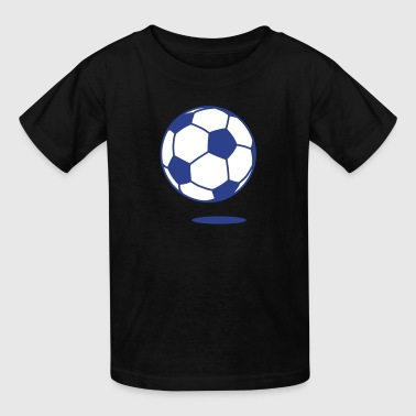 football with shadow 2c  - Kids' T-Shirt