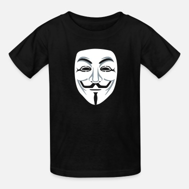 Anonymous Guy Fawkes Mask Anonymous/Guy Fawkes mask 2clr - Kids' T-Shirt