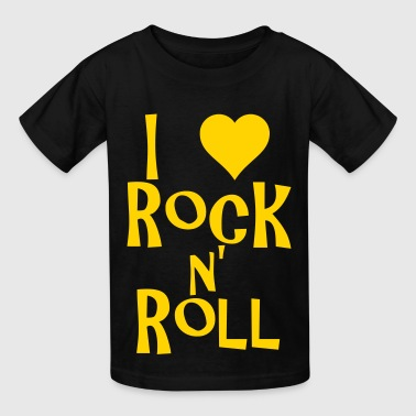 i love rock n' roll - Kids' T-Shirt