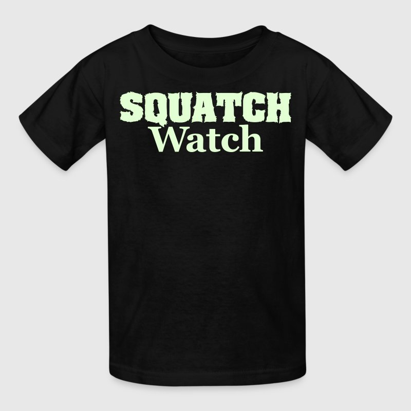 Squatch Watch - Kids' T-Shirt