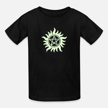 Sam And Dean Pentagram - Supernatural - Demons - Sam - Dean - Kids' T-Shirt