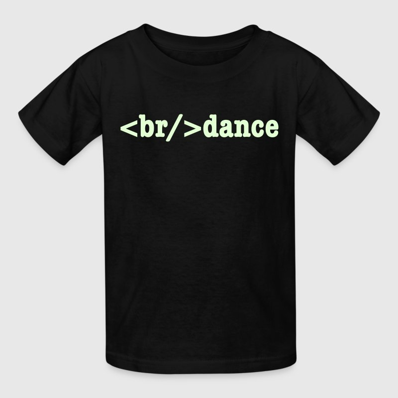 breakdance HTML Code - Kids' T-Shirt