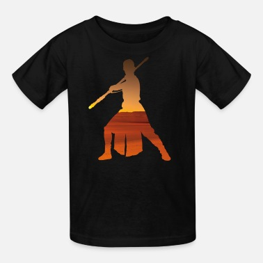Poe Dameron Lonesome Warrior Rey - Kids' T-Shirt