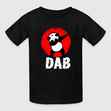 dab-panda-dabbing-football-tou1.png - Kids' T-Shirt