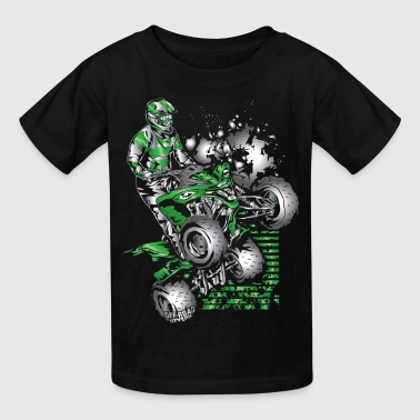 Yamaha ATV Grunge Quad - Kids' T-Shirt