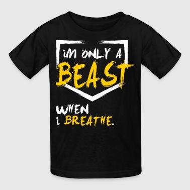 BEAST baseball / softball - Kids' T-Shirt