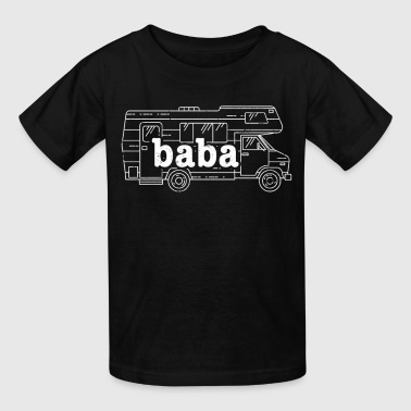 Best Ukrainian Baba RV Camping Clothes - Kids' T-Shirt