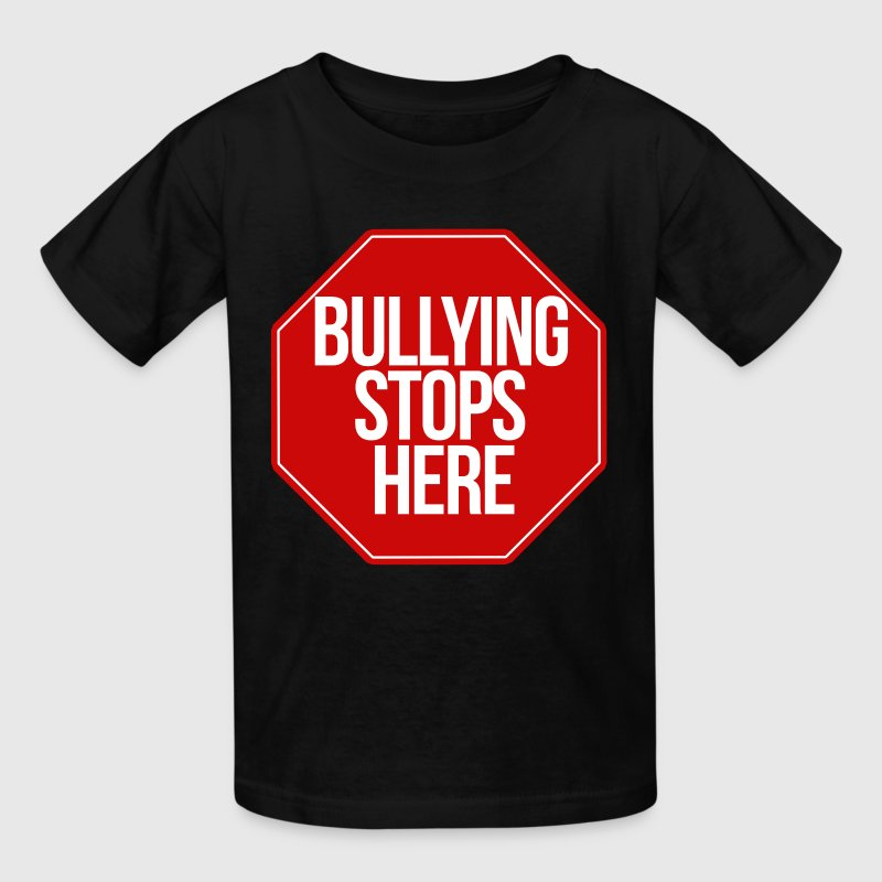 bullying stops here no bully zone - Kids' T-Shirt
