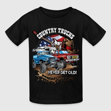 Country Off-Road Trucks - Kids' T-Shirt