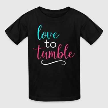 Gymnastics Love To Tumble Gymnast Light - Kids' T-Shirt