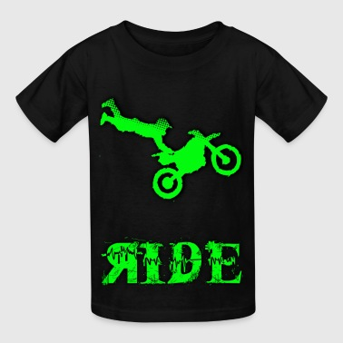RIDE Motocross design - Kids' T-Shirt