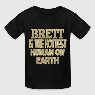 Brett - Kids' T-Shirt