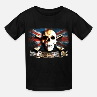 Uk Rock Band skull_and_flag_072013_gb_a - Kids' T-Shirt