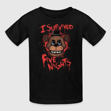 Golden Freddy I Survived Five Nights - Kids' T-Shirt