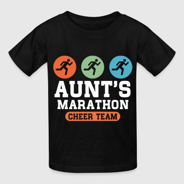 Aunts Marathon Cheer Team - Kids' T-Shirt