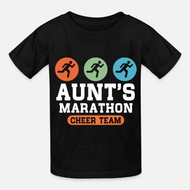 Team Cheer Aunts Marathon Cheer Team - Kids' T-Shirt
