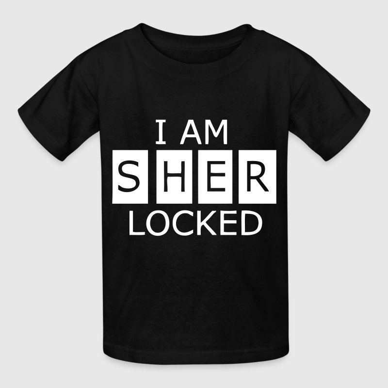 I Am SherLocked - Kids' T-Shirt