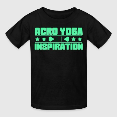 Lovely and Relaxing Acro Yoga Tshirt Design Acro Yoga Inspiration - Kids' T-Shirt
