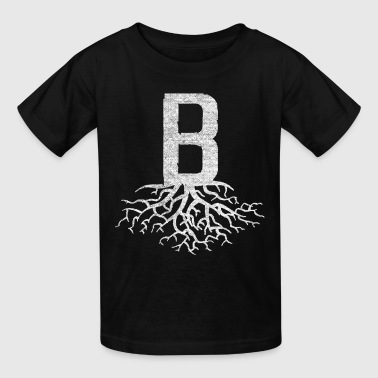 B with Roots Boston Rooted Love Shirts Clothing - Kids' T-Shirt
