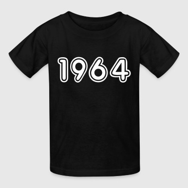 1964, Numbers, Year, Year Of Birth - Kids' T-Shirt