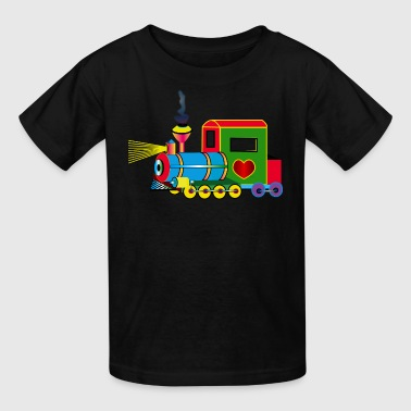 Train Engineer Train - Kids' T-Shirt