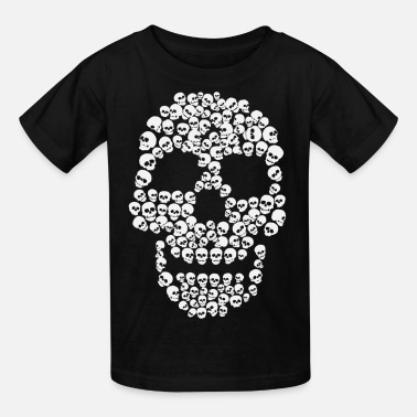 Skull Art Skull of Skulls - Kids' T-Shirt