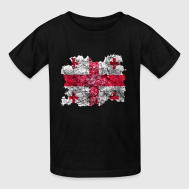 Georgia Vintage Flag - Kids' T-Shirt