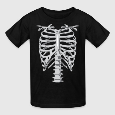 Skeleton Costume - Kids' T-Shirt