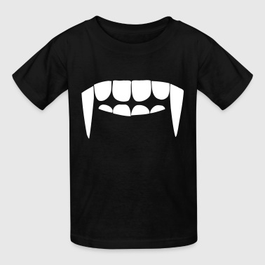 Vampire Fangs Fangs of a vampire - Kids' T-Shirt