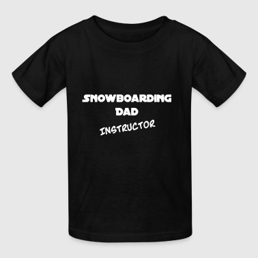 Father Day Snowboarding Snowboarding Dad T Shirt - Kids' T-Shirt