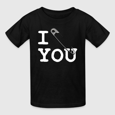 I Pin U (white) - Kids' T-Shirt