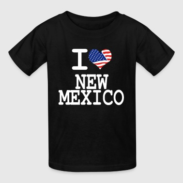 i love new mexico - white - Kids' T-Shirt