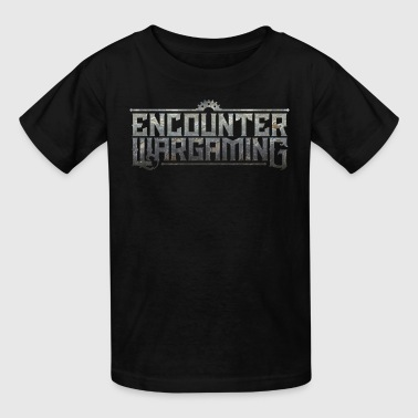 Wargame Encounter Wargaming Logo - Kids' T-Shirt