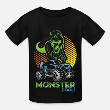 Monster Jam Monster Truck Dinosaur - Kids' T-Shirt
