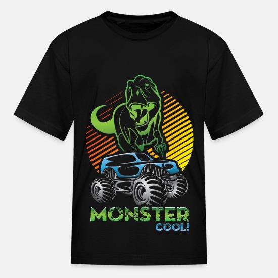 4f04273c0 Monster Truck Dinosaur Kids' T-Shirt | Spreadshirt