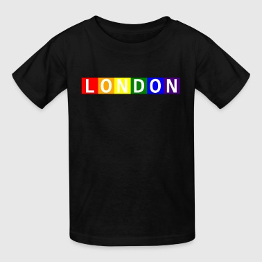 Baby London Pride Contrast Onesy - Kids' T-Shirt