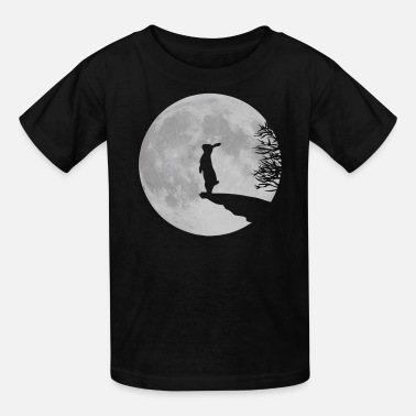 Easter werewolf bunny bunnies rabbit hare moon fullmoon howl - Kids' T-Shirt