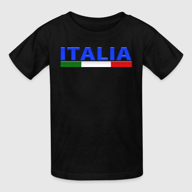 Little Italy Italy Glass - Kids' T-Shirt