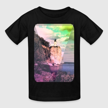 Lighthouse - Art - Hipster - Ocean - Cool - Kids' T-Shirt