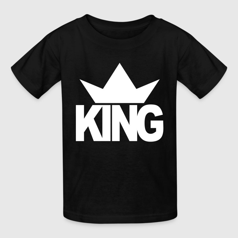 KING CROWN - Kids' T-Shirt
