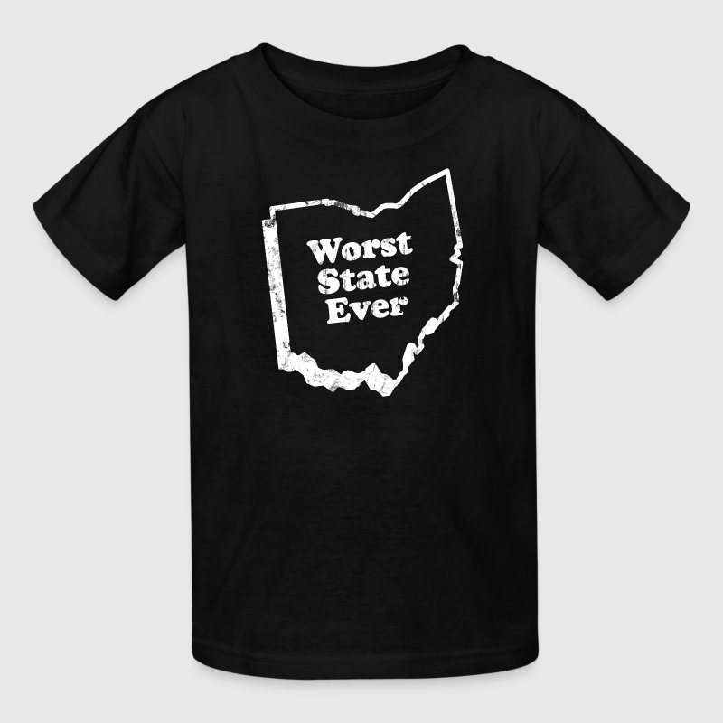 OHIO - WORST STATE EVER - Kids' T-Shirt