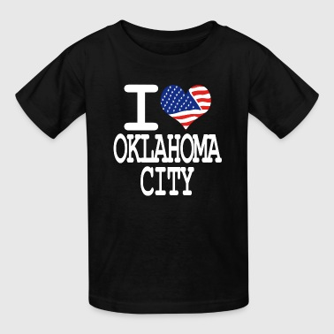 i love oklahoma - white - Kids' T-Shirt